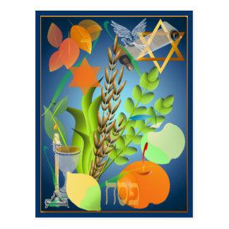 Postal de Seder del Passover