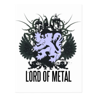 Postal de señor Of Metal de Rock Life