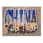 Postal de Shangai, China