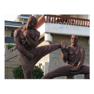 Postal de Shaolin Temple