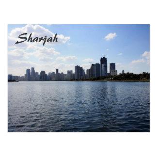 Postal de Sharja