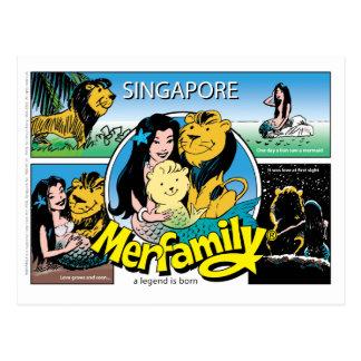 Postal de SINGAPUR MERFAMILY®