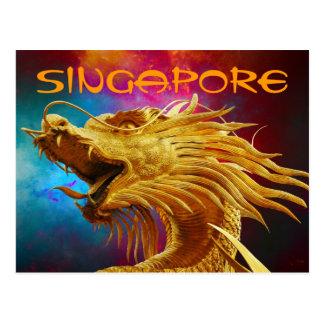 Postal de Singapur