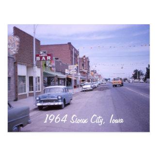 Postal de Sioux City, Iowa