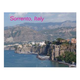 Postal de Sorrento Italia
