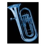 Postal de Souphone de la tuba para los músicos de