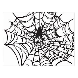 Postal de Spiderweb Halloween