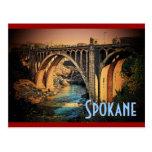 Postal de Spokane