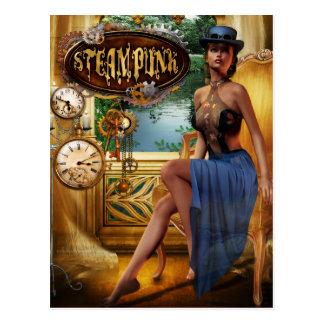 Postal de Steampunk