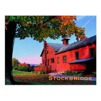 Postal de Stockbridge