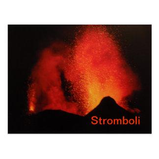Postal de Stromboli