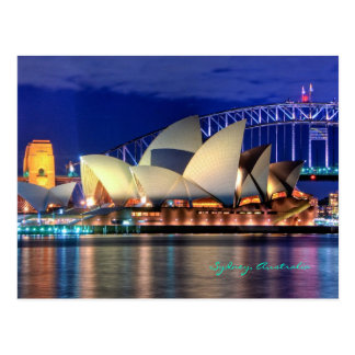 Postal de Sydney, Australia