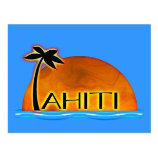 Postal de Tahití