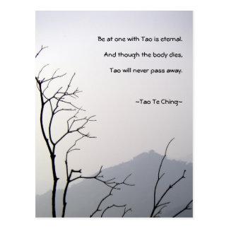 Postal de Tao Te Ching No 1
