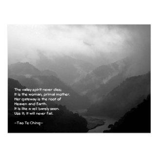 Postal de Tao Te Ching No.6/