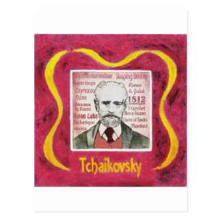 Postal de Tchaikovsky