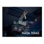 Postal de Tejas del centro espacial de la NASA