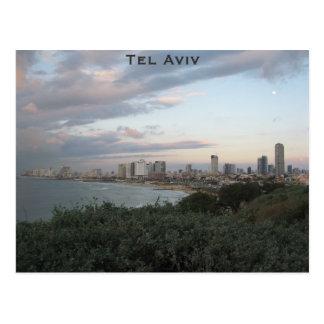 Postal de Tel Aviv