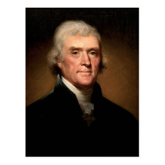 Postal de Thomas Jefferson