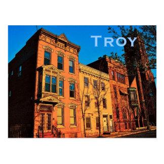 Postal de Troy (NY)