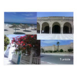 Postal de Túnez