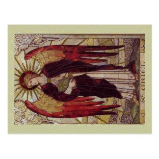Postal de Uriel del arcángel