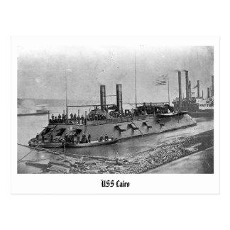 Postal de USS El Cairo