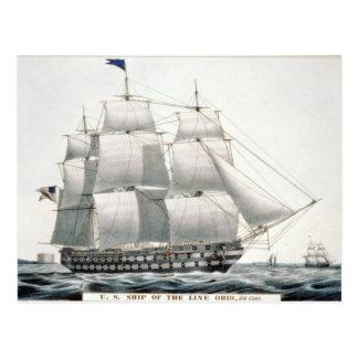 Postal de USS Ohio