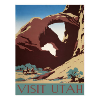 Postal de Utah del vintage