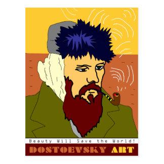 Postal de Van Gogh del arte de Dostoevsky