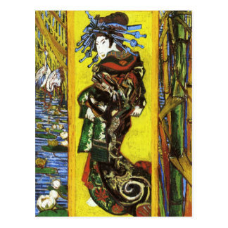 Postal de Van Gogh Japonaiserie Oiran