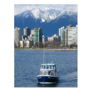 Postal de Vancouver en abril