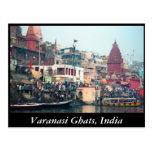Postal de Varanasi Ghats