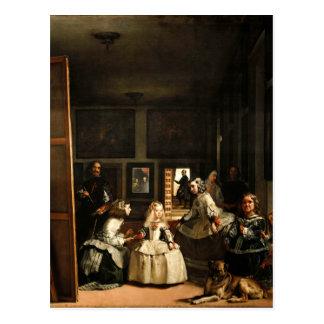 Postal de Velázquez Las Meninas