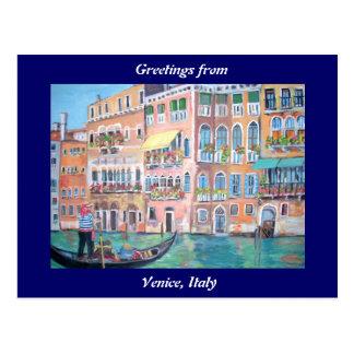 Postal de Venecia - de Italia