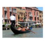 Postal de Venecia, Italia