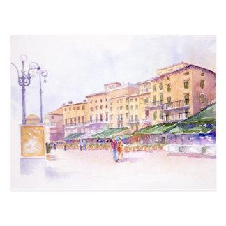 Postal de Verona, Italia