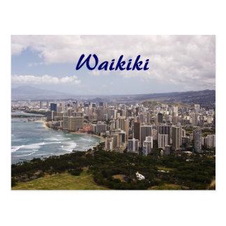 Postal de Waikiki