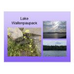 Postal de Wallenpaupack del lago