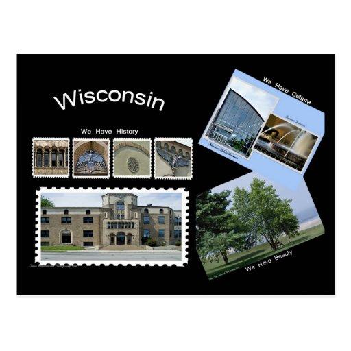 Postal de Wisconsin