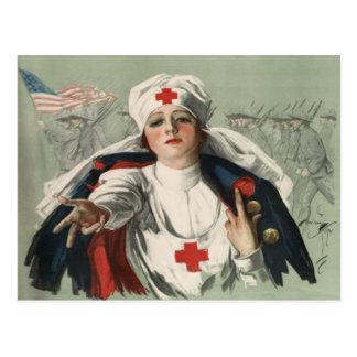Postal de WWII con la impresión americana de la Cr