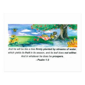 Postal del 1:3 del salmo