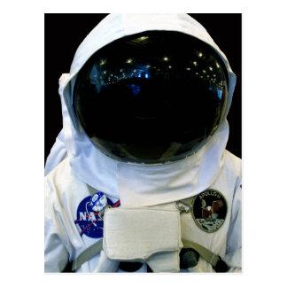 Postal del 1b del astronauta