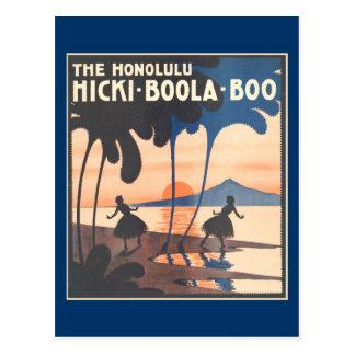 Postal del abucheo de Hicki Boola