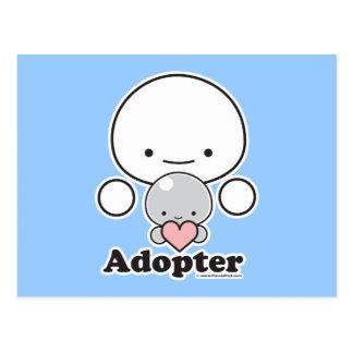 Postal del adoptante