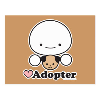 Postal del adoptante (perro)