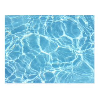 Postal del agua de la piscina