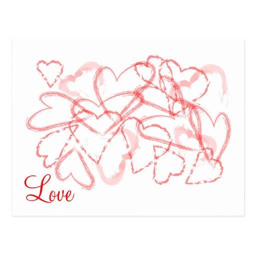 postal del amor