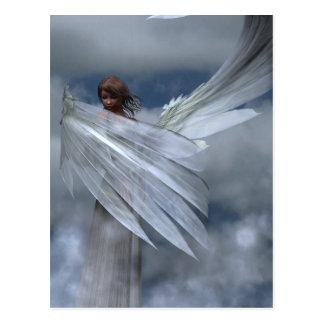 Postal del ángel de guarda