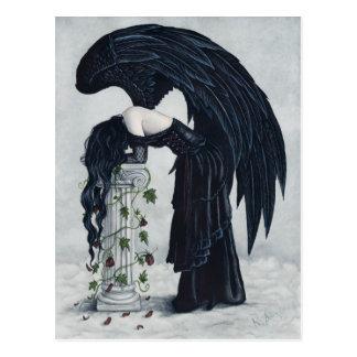 Postal del ángel de la desesperación